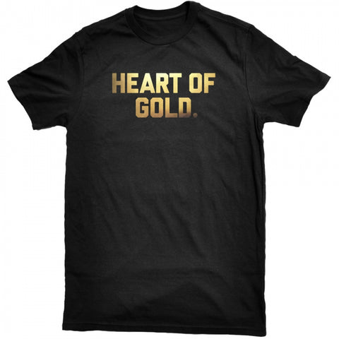 Heart Of Gold Tee - Black