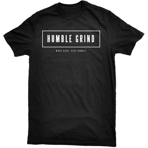 Humble Grind - Box Tee Black