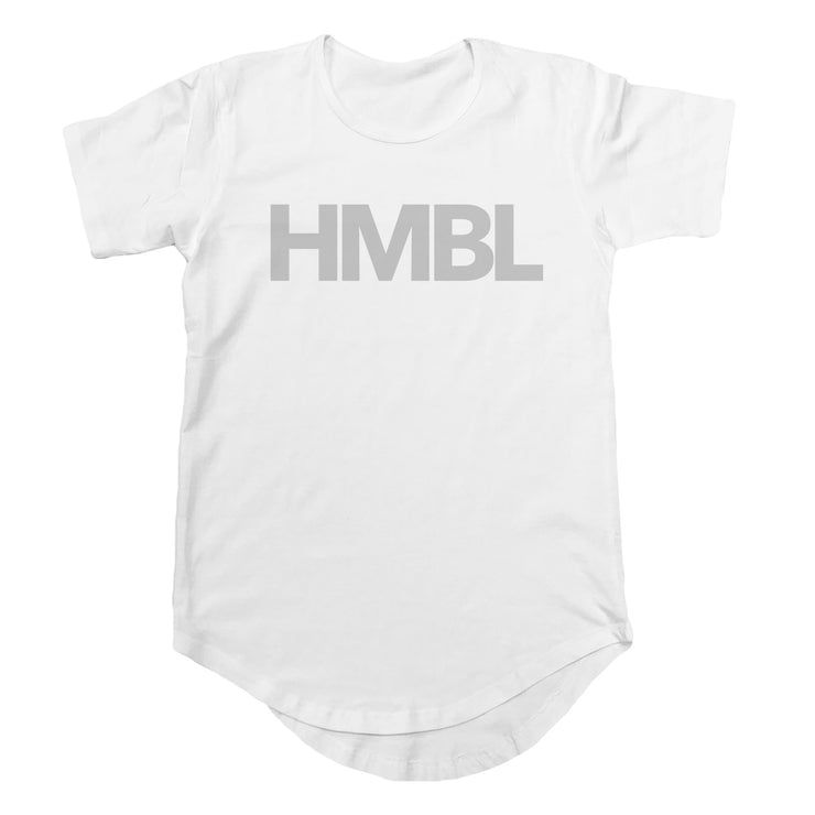 HMBL Scoop Tee - White