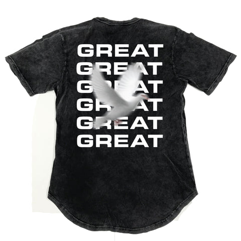 Great Holy Ghost Vintage Scoop Tee