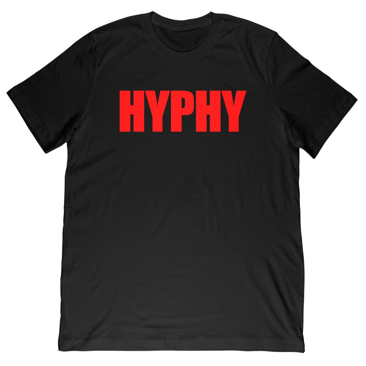 Kali Muscle - HYPHY Red Tee - Black