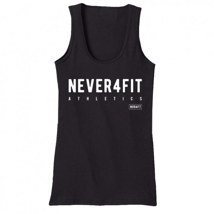 Never4Fit - Icon Tank - Black