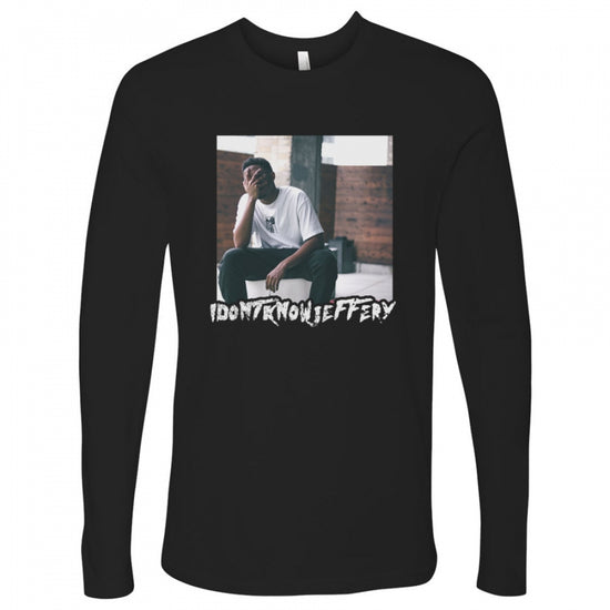 I Don't Know Jeffery Tee - Black