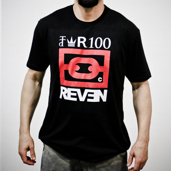 CROWN R100 TEE - BLACK