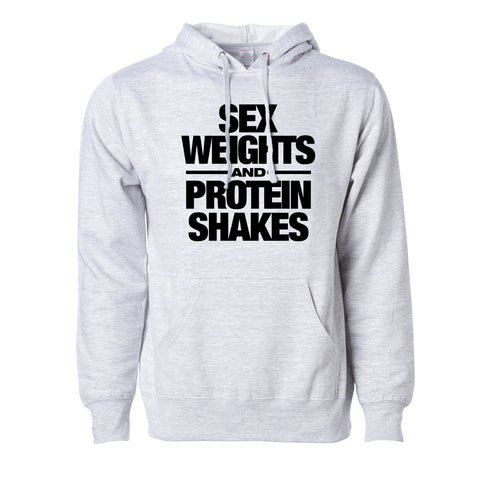 LOL Sex Weights Protein Shakes Hoodie