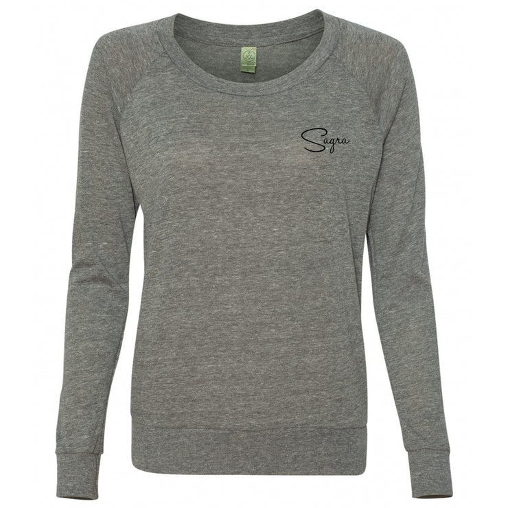 Logo Slouchy Pullover