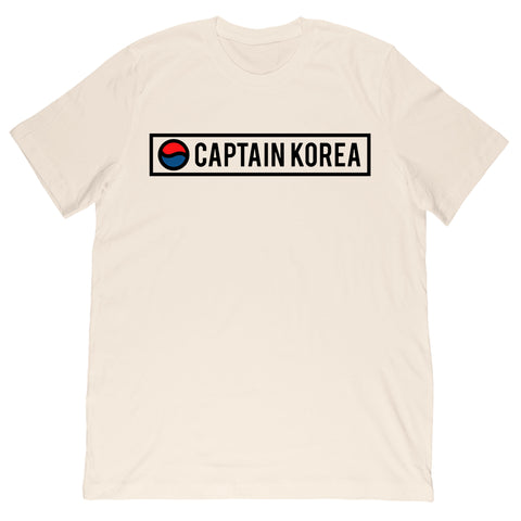 Captain Korea - Logo Tee