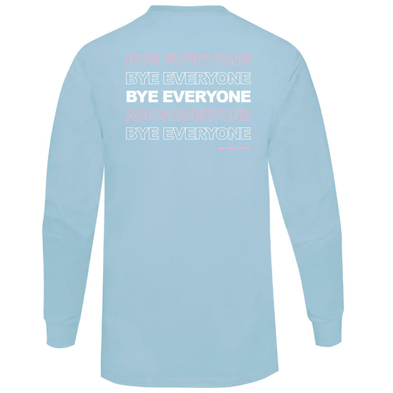 Gabriel Zamora - Everyone Long Sleeve (Blue)