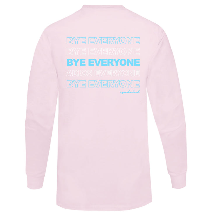 Gabriel Zamora - Everyone Long Sleeve (Pink)