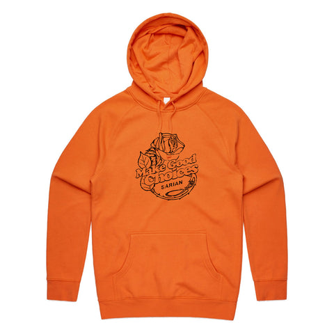Bailey Sarian - Rose ORANGE Hoodie