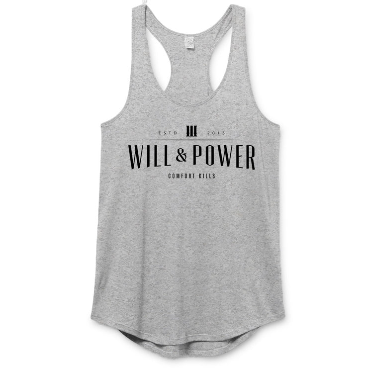 Will And Power - Masthead Premium Racerback