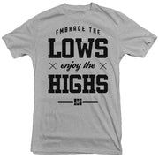 Mike Song - Enjoy the Highs Tee (Heather Grey)