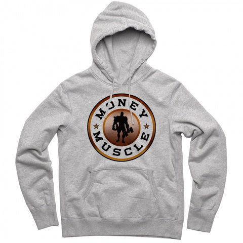 Kali Muscle - Money And Muscle Gold Hoodie