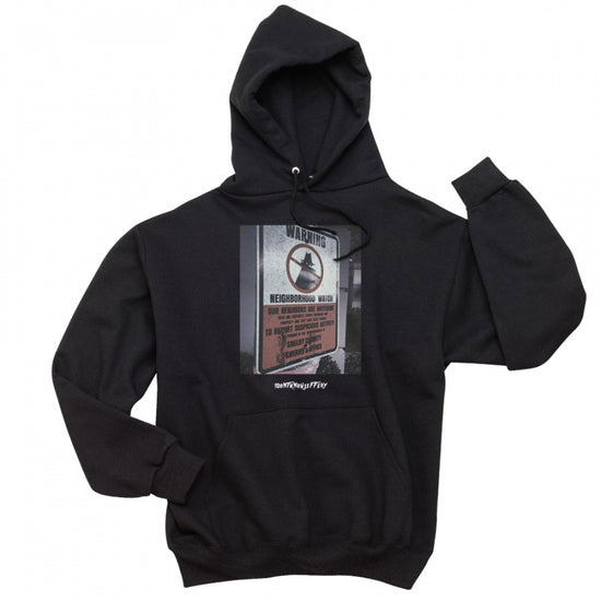 Neighborhood Watch Hoodie - Black