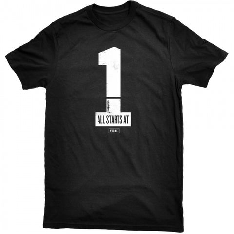 Never4Fit - One Tee - Black