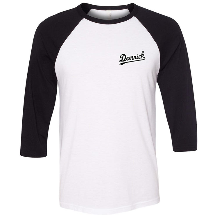 Demrick - Outlined Raglan Tee