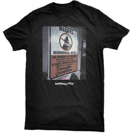Neighborhood Watch Tee - Black