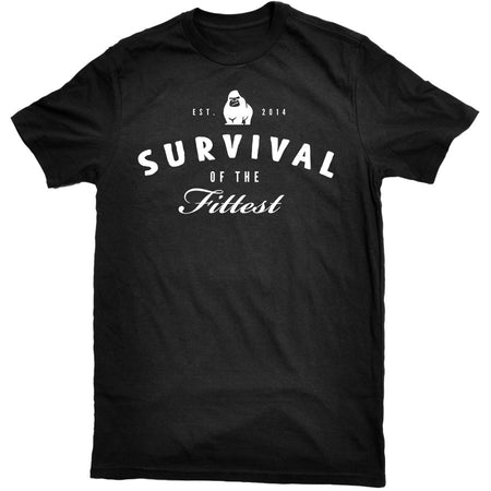 Pure Primate - Survival Tee Black