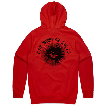 Sheep Red Hoodie