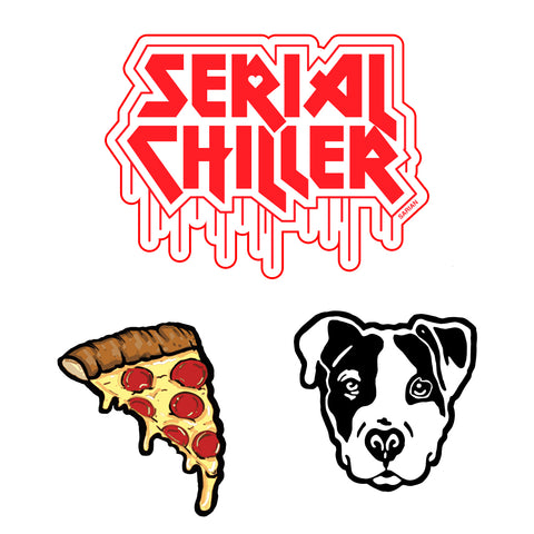 Bailey Sarian - Serial Chiller Sticker 3-Pack