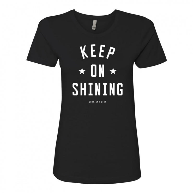 SHINE LIKE STARS WOMEN'S TEE - Black