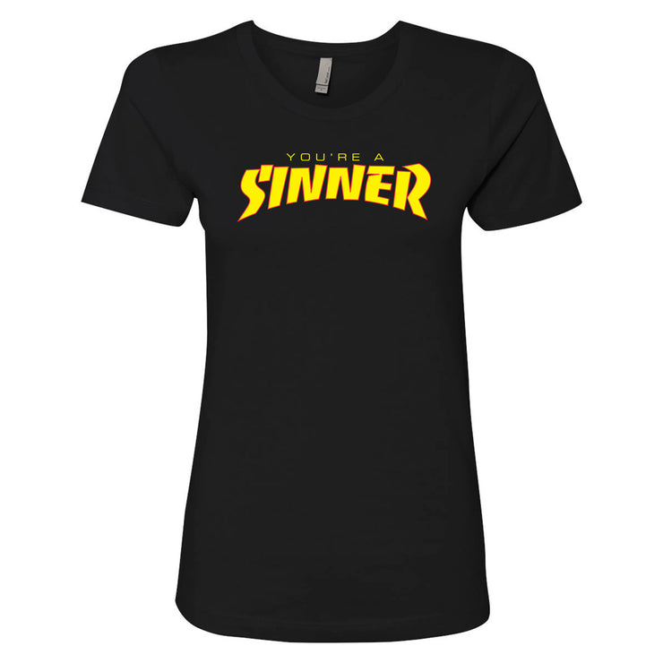 Christianity Hotline - Sinner Women's Tee
