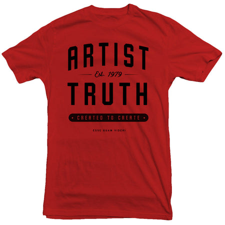 Artist Truth - Stacked Tee