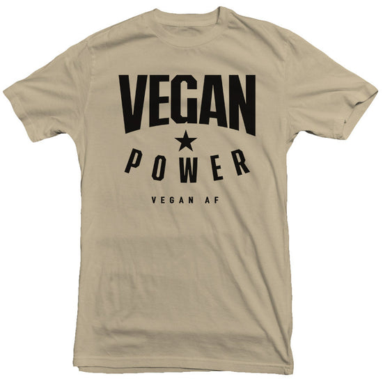 Vegan Power - Star Tee