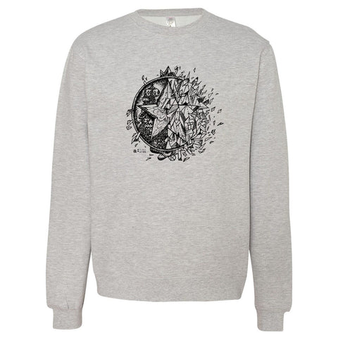 a:DM Fractured Crewneck
