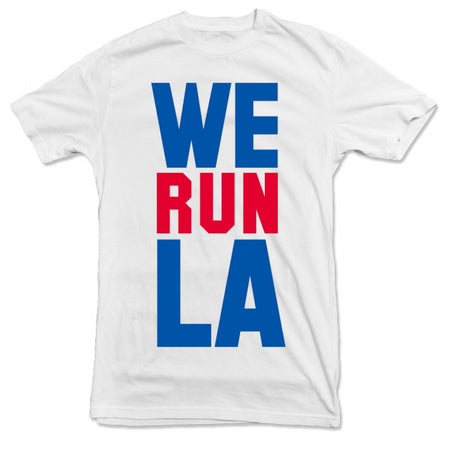 STATECITY - We Run LA Tee - White