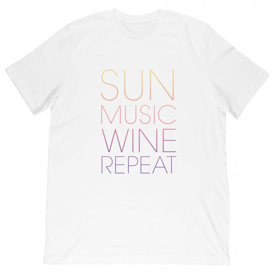 Gummy Mall - Sun Music Repeat Tee