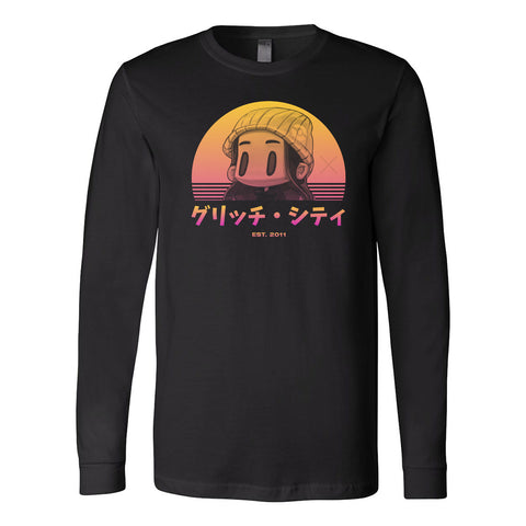 GlitchxCity - Sunset Long Sleeve Tee