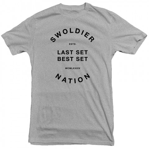 STEVE COOK - SWOLDIER NATION LSBS TEE