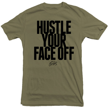 United Gains - Face Off Tee