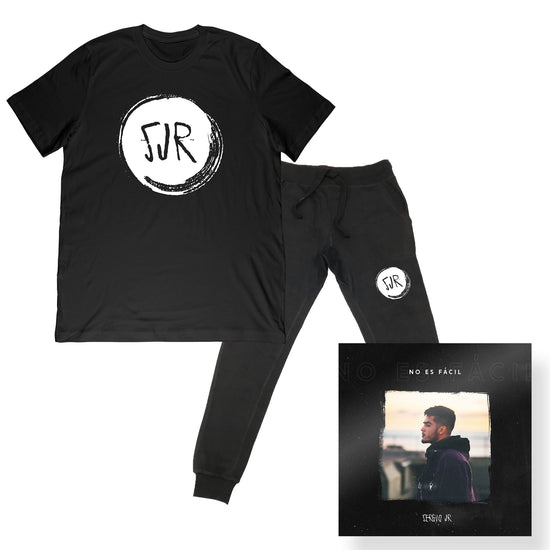 Sergio JR - Logo Tee and Jogger Bundle + No Es Fácil Digital Single