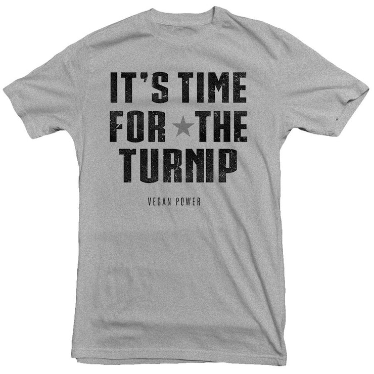 Vegan Power - Time for the Turnip Tee