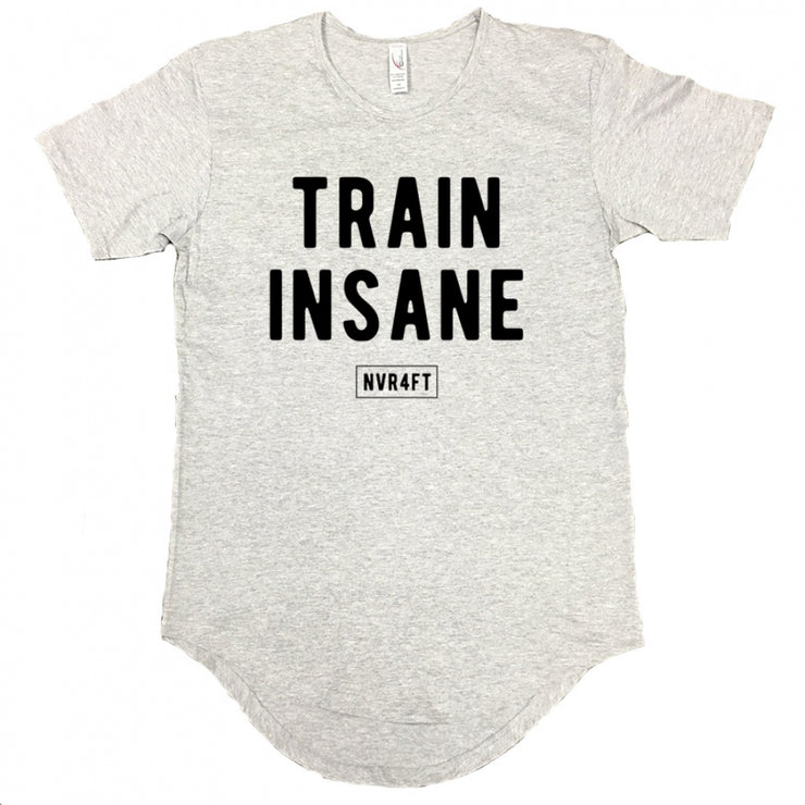 Never4Fit - Train Insane Scoop Tee