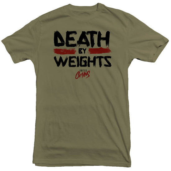 United Gains - Death By Weights Tee