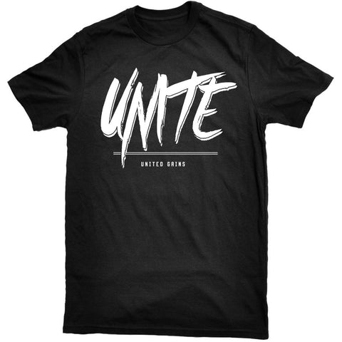 United Gains - Unite Tee Black