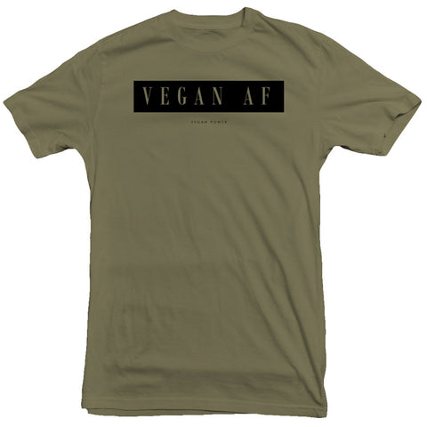 Vegan Power - Vegan AF Tee