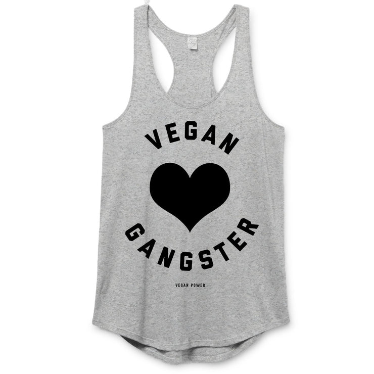 Vegan Power -  Vegan Gangster Racerback