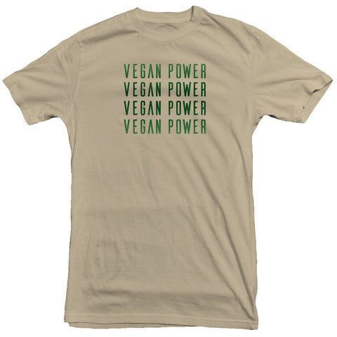 Vegan Power - Vegan Green Tee