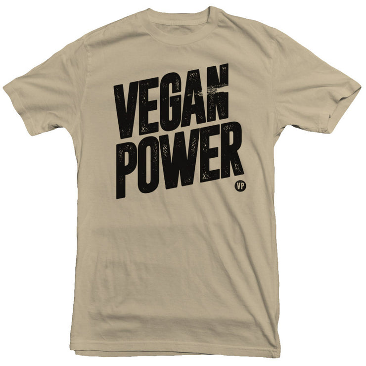 Vegan Power - Vintage Tee