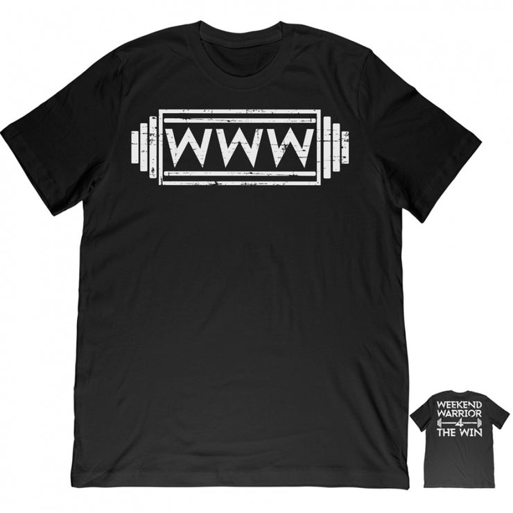 Weekend Warrior Tee - Black