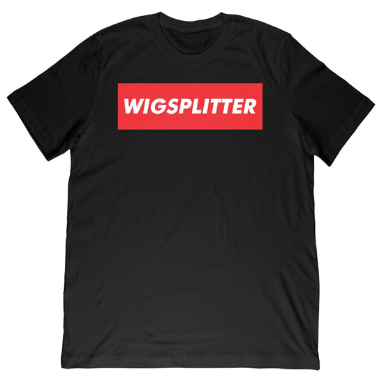 FRESH OUT - WIGSPLITTER TEE - BLACK