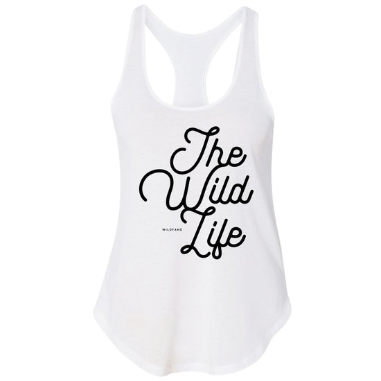 Wild Fame - The Wildlife Premium Racerback Tank (Ladies)