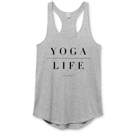 Clean Temple - Yoga Life Racerback