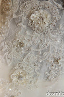 I Bay U Full Beading Crystal Ball Gown Aracbic Wedding Dresses Long Sleeve Muslim Wedding Dress