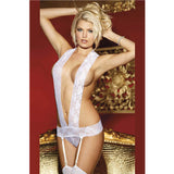 3 Colors Fashion Ladies Sexy Underwear Thong Panties Teddy With with Suspenders and Garters Sexy Bridal Lingerie L81153-1