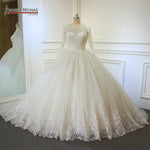 2018 Ball Gown Wedding Dress Factory Direct Sale Full Beading Bridal Dress